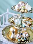 3-tier dish & baubles